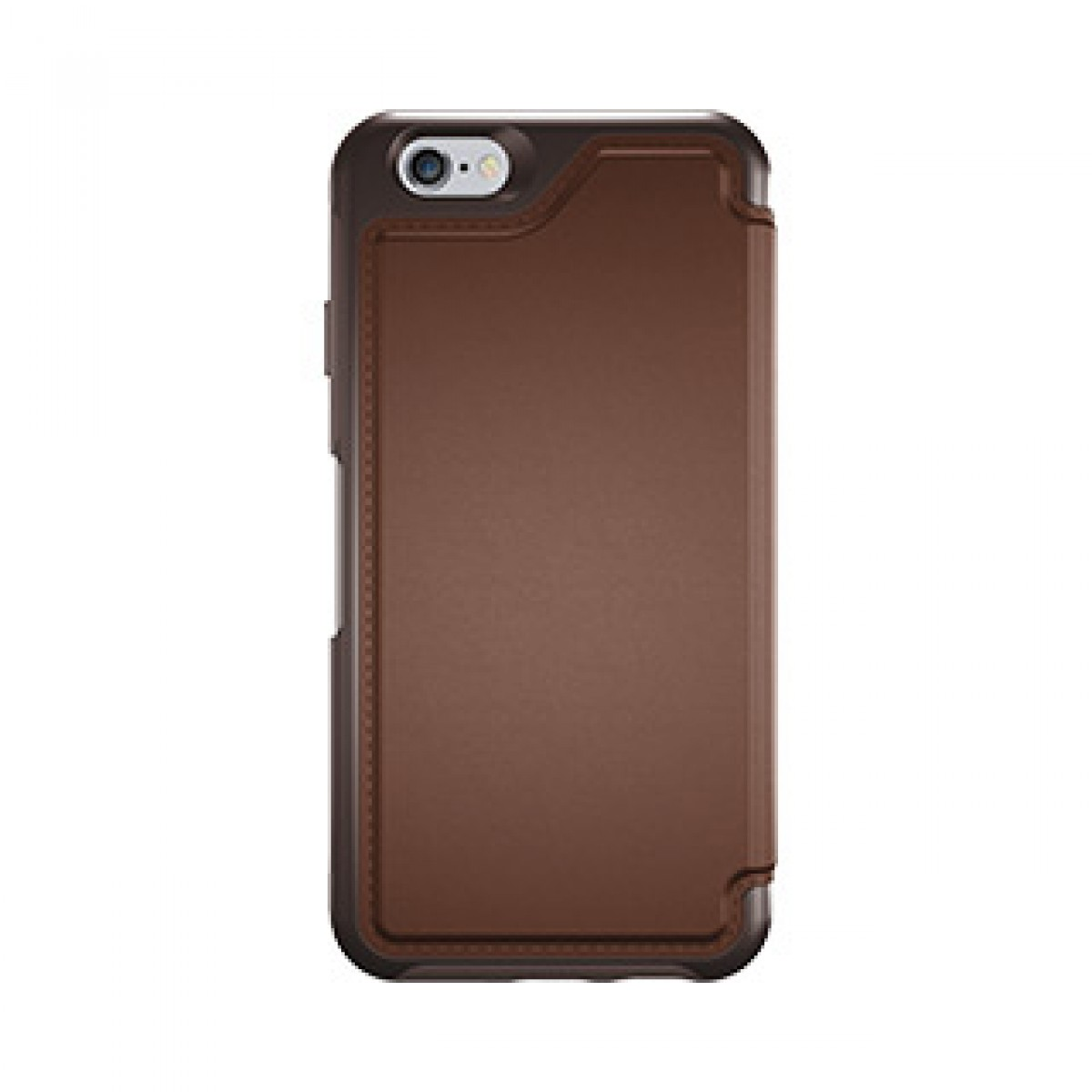 best service 41d04 e2778 iPhone 6/6S Otterbox Brown/Brown (Saddle) Leather Strada Folio