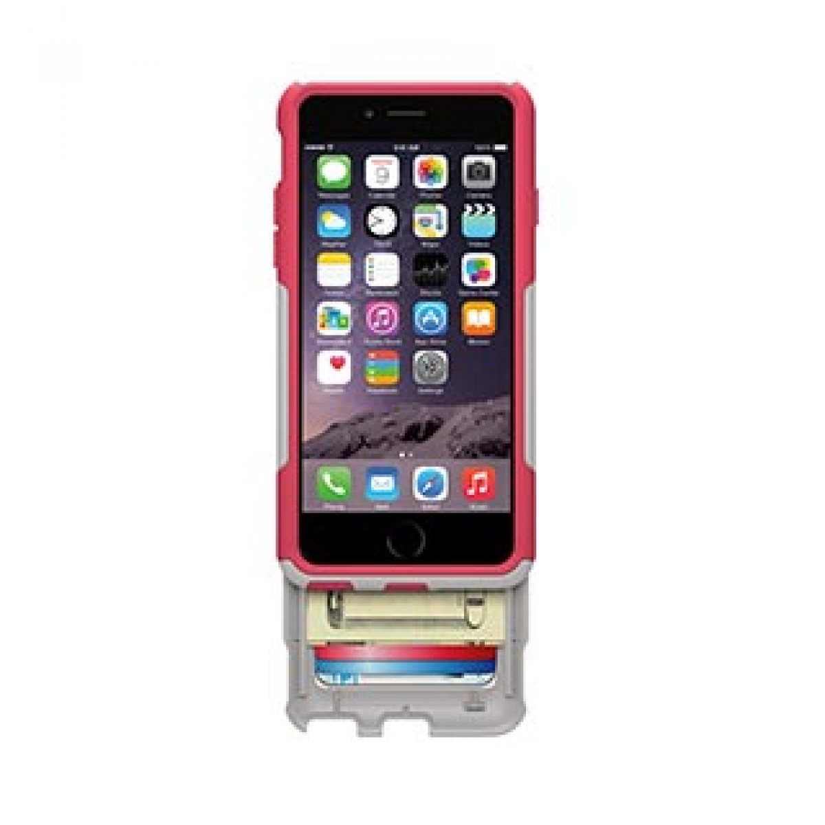 info for 46224 b9817 iPhone 6/6S Otterbox White/Pink (Neon Rose) Commuter Wallet