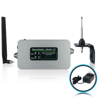 Stealth Z1 65dB Building Booster Kit With Omni Directional Antennas and F connectors