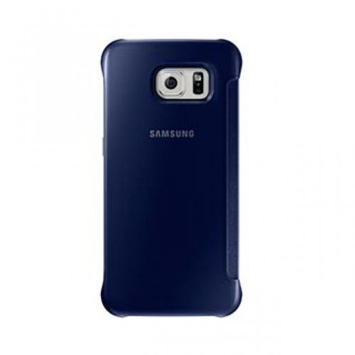 Samsung Galaxy S6 OEM Blue/Black Clear View Cover