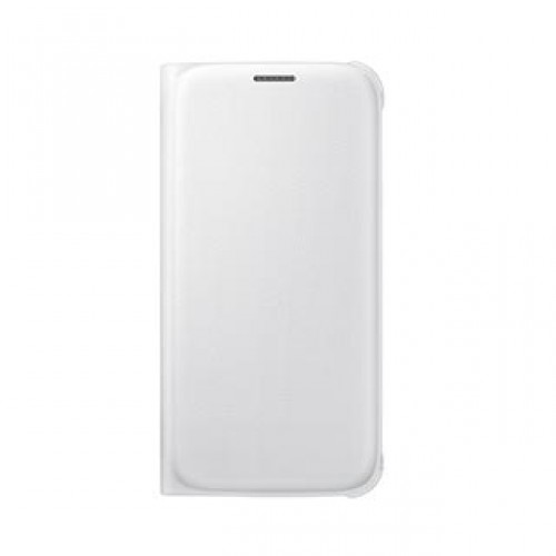 Samsung Galaxy S6 OEM White Wallet Flip Cover