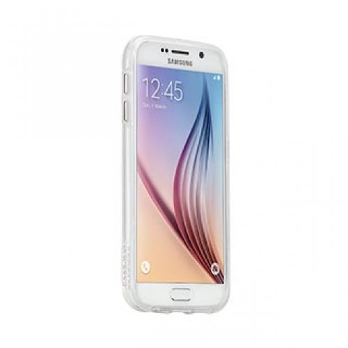 Samsung Galaxy S6 Case-mate Clear w/Clear bumper Naked Tough case