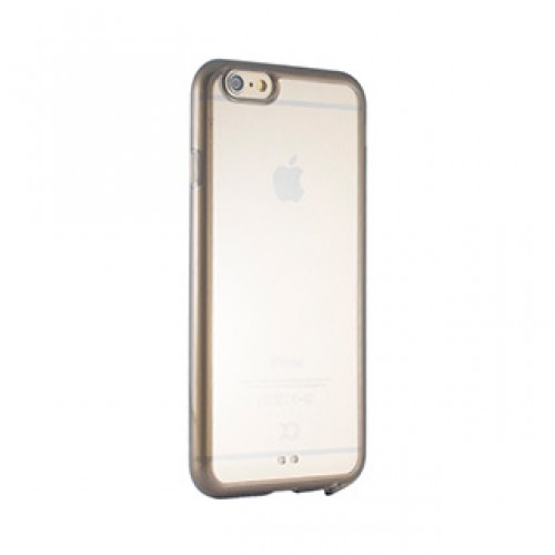 iPhone 6/6S Xqisit Clear/Grey iPlate Odet case