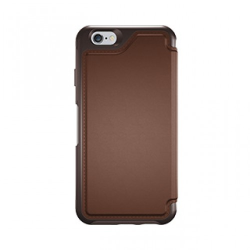 iPhone 6/6S Otterbox Brown/Brown (Saddle) Leather Strada Folio