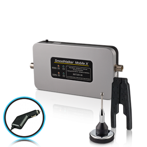 Mobile X-30dB Mobile Booster Kit with internal Patch Antenna & CLA Power
