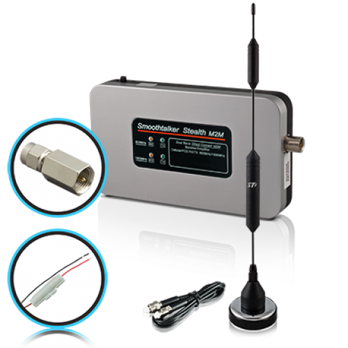 "Stealth M2M Direct Connect Booster Kit With SMA Connector and 14"" Magnetic Antenna"