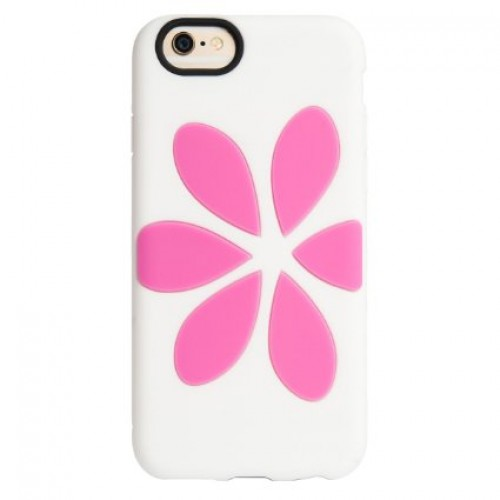 iPhone 6/6S Agent 18 White/Pink Flowervest case