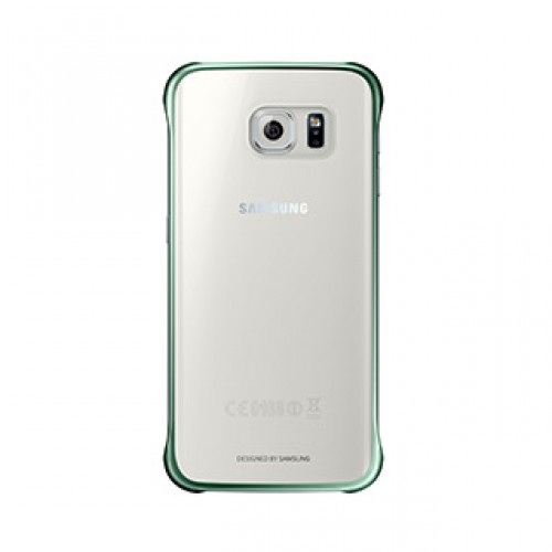 Samsung Galaxy S6 Edge OEM Green Clear Protective Cover
