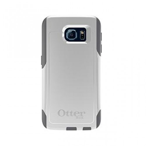 Samsung Galaxy S6 Otterbox White/Grey (Glacier) Commuter series case