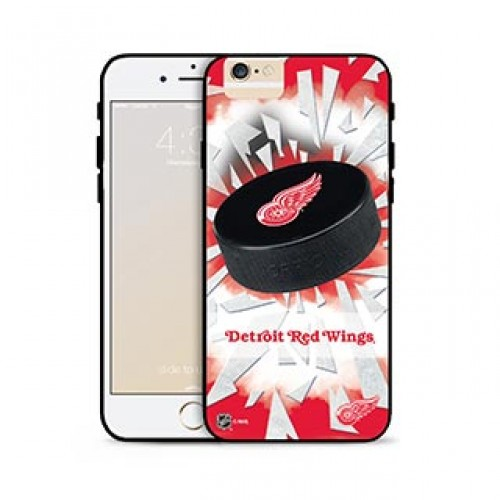 iPhone 6 Plus/6S Plus NHL® Detroit Red Wings Puck Shatter cover