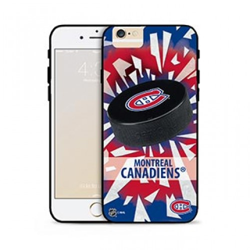 iPhone 6 Plus/6S Plus NHL® Montreal Canadiens Puck Shatter cover