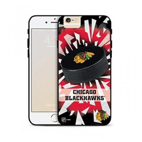 iPhone 6 Plus/6S Plus NHL® Chicago Blackhawks Puck Shatter