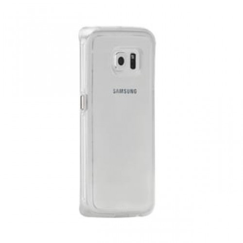 Samsung Galaxy S6 Edge Case-mate Clear w/Clear bumper Naked Tough case