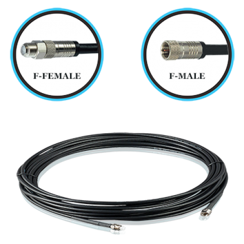 "20ft Pro-X Outdoor RG6 ""F"" Male ""F"" Female"
