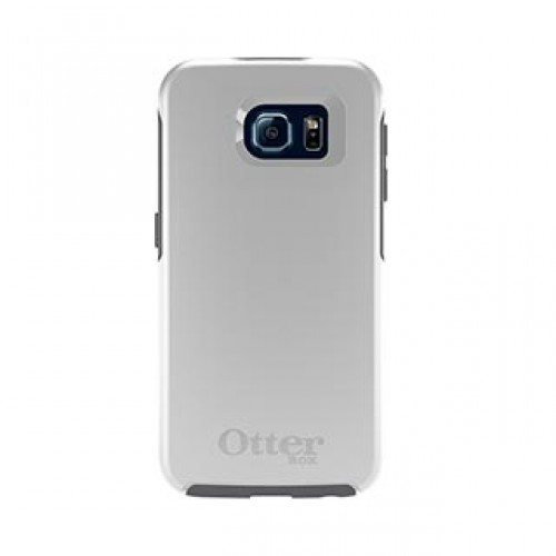Samsung Galaxy S6 Otterbox White/Grey (Glacier) Symmetry series case